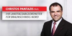 Banner: Internetauftritt von Christos Pantazis