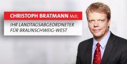 Banner: Internetauftritt von Christoph Bratmann